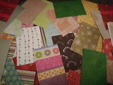 Joblot OF 100 ASSORTED SHEETS CARD + PAPER - Card Making and Scrapbooking
