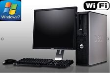 Complete Desktop PC Computer System with WiFi and Windows 7 Pro
