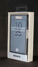 100% Genuine Sony Xperia X Compact Style Cover Touch Case Cover - Black