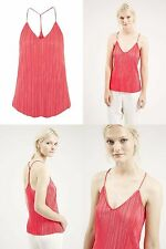 TopShop Semi Fitted V Neck Waist Length Women's Tops & Shirts