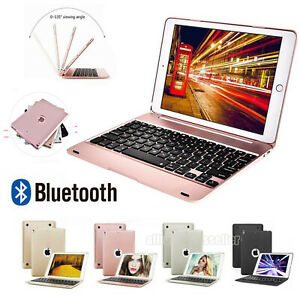 """Smart Case With Bluetooth Keyboard Cover For iPad 5th & 6th Generation 2018 9.7"""""""