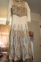 Asian Dress Size S-M Worn Once