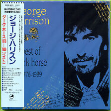 George Harrison BEST OF DARK HORSE 1976-1989 mini LP CD w/OBI Strip SEALED