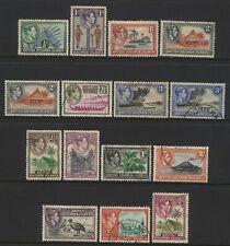 British Solomon Islands KGVI Multi Design Values Used