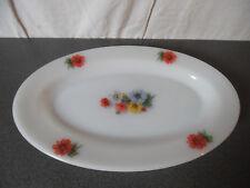 Vintage Plat Arcopal motif Fleurs