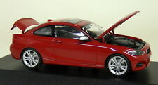 Herpa 1/43 Scale - BMW 2 Series Coupe F22 Melbourne Red Diecast Model Car