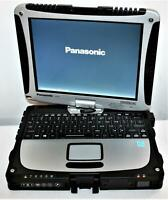 MK8 Panasonic ToughBook CF-19 Intel i5 3610ME 8GB 256GB WiFi BT GPS Touch 0 Hrs!