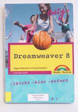 Dreamweaver 8: Eigene Websites im Handumdrehen!, Markt+Technik