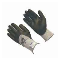 3 Pair G-Tek 19-D855 Black White Medium Dyneema Nylon Cut-Resistant Work Gloves