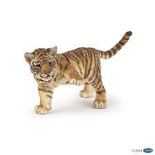 Tigerjunges mit erhobenem Bein 6 cm Wildtiere Papo 50184
