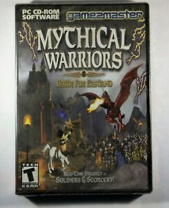 Mythical Warriors Battle for Eastland  RTS  Soldiers & Scorcery!  Pc game Sealed