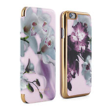 OFFICIAL Ted Baker SS16 MARIEL Mirror Folio Nude Case Cover for iPhone 6/6S