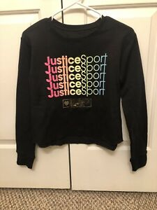 Justice Black 12 Size Sweatshirts & Hoodies (Sizes 4 & Up) for Girls for  sale   eBay