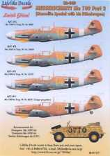 Lifelike Decals 1/32 MESSERSCHMITT Me-109 LT MARSEILLE & HIS KUBELWAGEN
