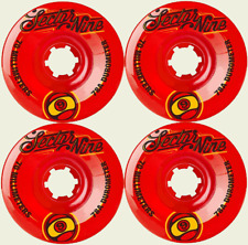 Sector 9 Nineballs Top Shelf Skateboard Longboard Wheels 70MM 78a Red Set/4 NEW