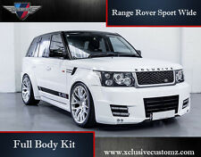 RANGE ROVER SPORT WIDE FULL BODY KIT L320 conversione TUNING