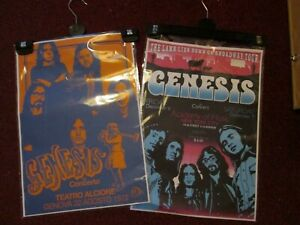 GENESIS BAND POSTERS Concert Music Posters Club Bar Decor x 2