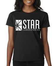 Star Labs Ladies Tee Shirt The Flash STAR LABORATORIES Superman DC Comic XS-3XL