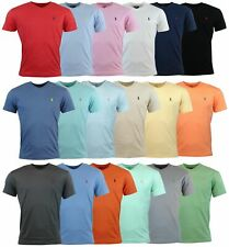 Polo Ralph Lauren Men's Classic Fit Short Sleeve V-Neck Logo T-Shirt