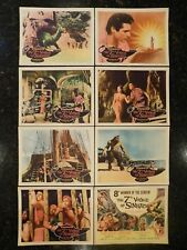 THE 7TH VOYAGE OF SINBAD Complete, 1958 Lobby Card Set, C8.5 Very Fine/Near Mint