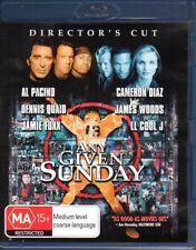 ANY GIVEN SUNDAY - BLU-RAY REGION B (2017) Al Pacino  Cameron Diaz - LIKE NEW