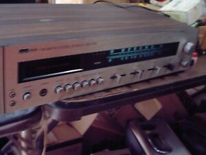 Vintage Montgomery Ward AM/FM/8-Track Stereo Receiver Made in Taiwan