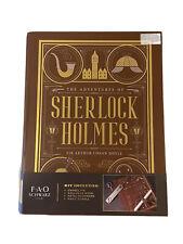 FAO Schwarz Sherlock Holmes Book Kit by Conan Doyle RARE Hard to Find