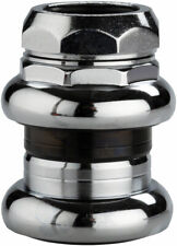 "Tange-Seiki Levin CDS 1"" Threaded Headset: 27.0mm Crown Race Chrome"