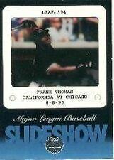 1994 Leaf Frank Thomas #1 Baseball Card