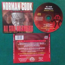 CD Norman Cook All-Star Breakbeats Volume 1 FATBOY SLIM break samples no lp(ST2)