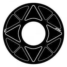 Trials Bike Jitsie Rear Sprocket Sticker Protector. Solid Sprocket. Black. 41-44