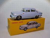 Panhard PL 17 berline + certificat - ref 547 au 1/43 de dinky toys atlas