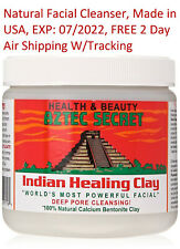 Aztec Aztek Secret - Indian Healing Clay Deep Pore Facial Cleansing , EXP: 07/22