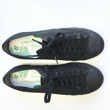 PF Flyers Mens 11.5 Sneakers Sandlot Center Low Black Lace Up Shoes Womens 13