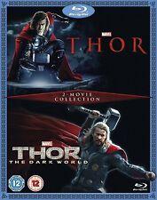 Thor / Thor The Dark World 2 Movie Collection Blu-Ray Region Free