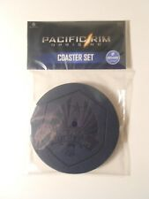 PACIFIC RIM: UPRISING Set Of Four Drink Coasters - 2018 LOOT CRATE EXCLUSIVE