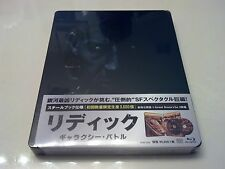 Riddick: Galaxy Battle STEELBOOK (Blu-ray, Japan) Region Free RARE Only 3,000