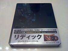 Riddick: Galaxy Battle STEELBOOK (Blu-ray, Japan) Region Free RARE Only 3,000