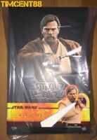 Ready! Hot Toys MMS477 Star Wars III Revenge of the Sith Obi-Wan Kenobi Normal