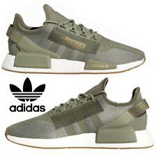 Adidas Originals NMD R2 Men's Sneakers Casual Shoes Running Green Metallic