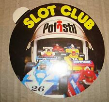 POLISTIL SLOT CLUB ADESIVO PUBBLICITARIO ANNI '80