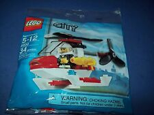 Lego 4900 CITY Police Helicopter New promo bag polybag
