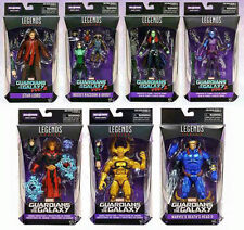 Set of 7 Wave 2 Mantis BAF Guardians of the Galaxy Marvel Legends IN HAND