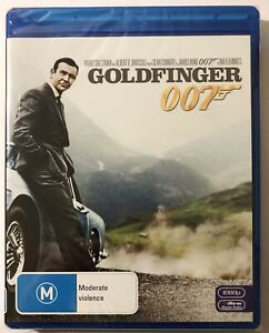 Goldfinger James Bond 007 Blu-ray. New & Sealed. Sean Connery.