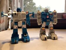 Transformers G1 Original Vintage 1980s Twintwist and Topspin Figures  Lot
