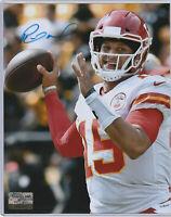 Patrick Mahomes AUTOGRAPH 8X10 w/ *COA* SIGNED Kansas City Chiefs/Texas Tech