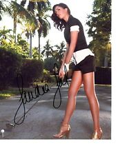 Sandra Gal LPGA star hand signed autographed 8x10 golf photo Germany