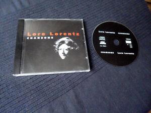 CD Lore Lorentz - Chansons Live aus dem Köm(m)ödchen Düsseldorf WDR 1984 & 1986