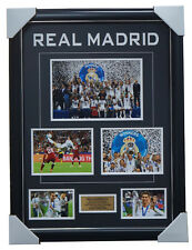 Real Madrid 2018 UEFA Champions Photo Collage Framed 3-PEAT Ronaldo Gareth Bale