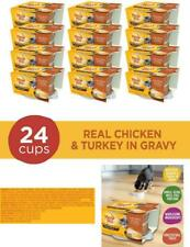Meow Mix Simple Servings Wet Cat Food Chicken Turkey Mess Free 1.3 Ounce Cups